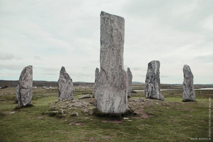 Calanais Stones.